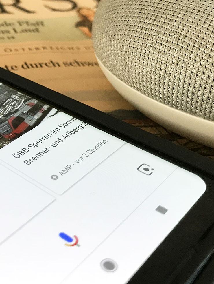 Ok, Google – mit DER STANDARD sprechen