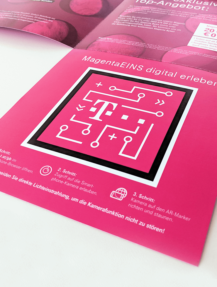 Ein Direct Mail digital interpretiert