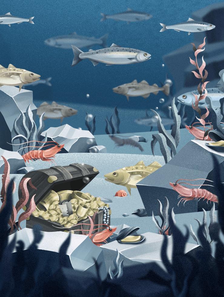 Infotainment am Grund des Meeres