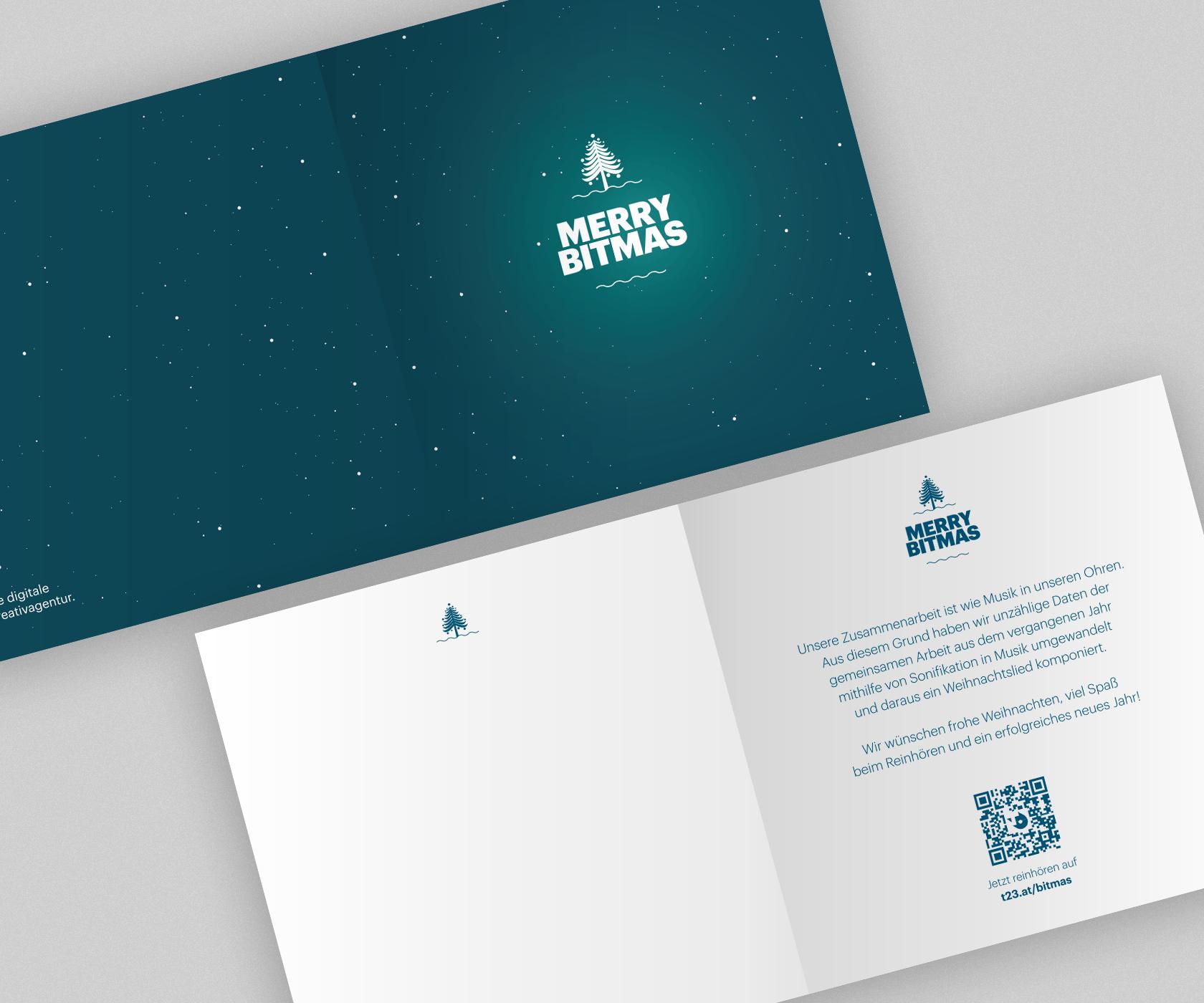 TUNNEL23 Weihnachtskarte