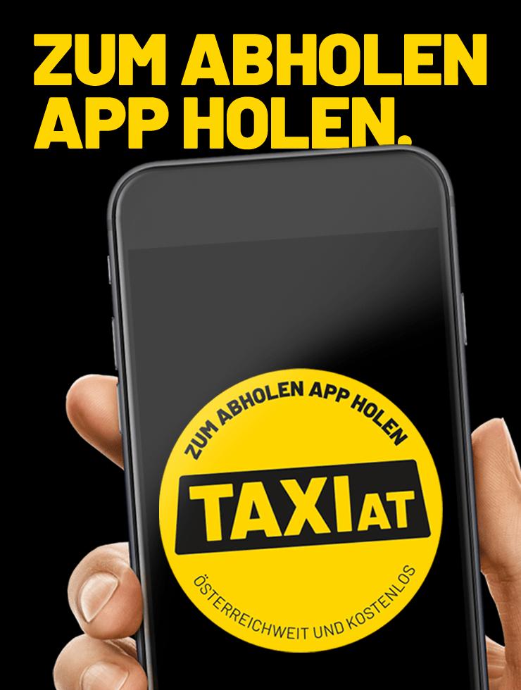 Neue App von TaxiAT und 360-Grad-Kampagne