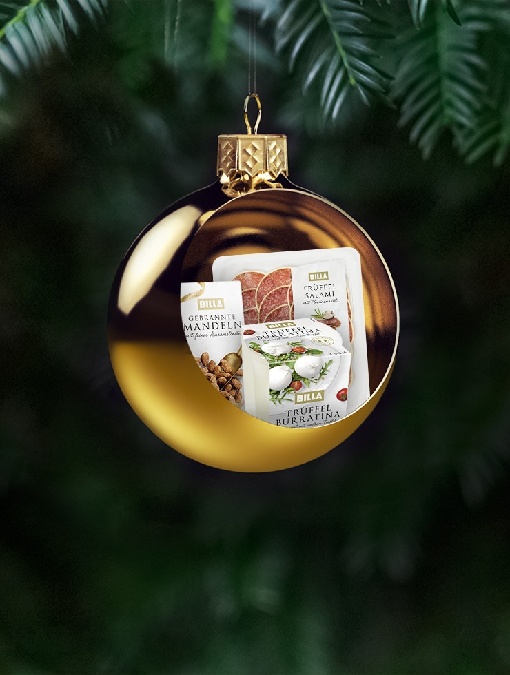 Digitale Weihnachtskampagne von BILLA