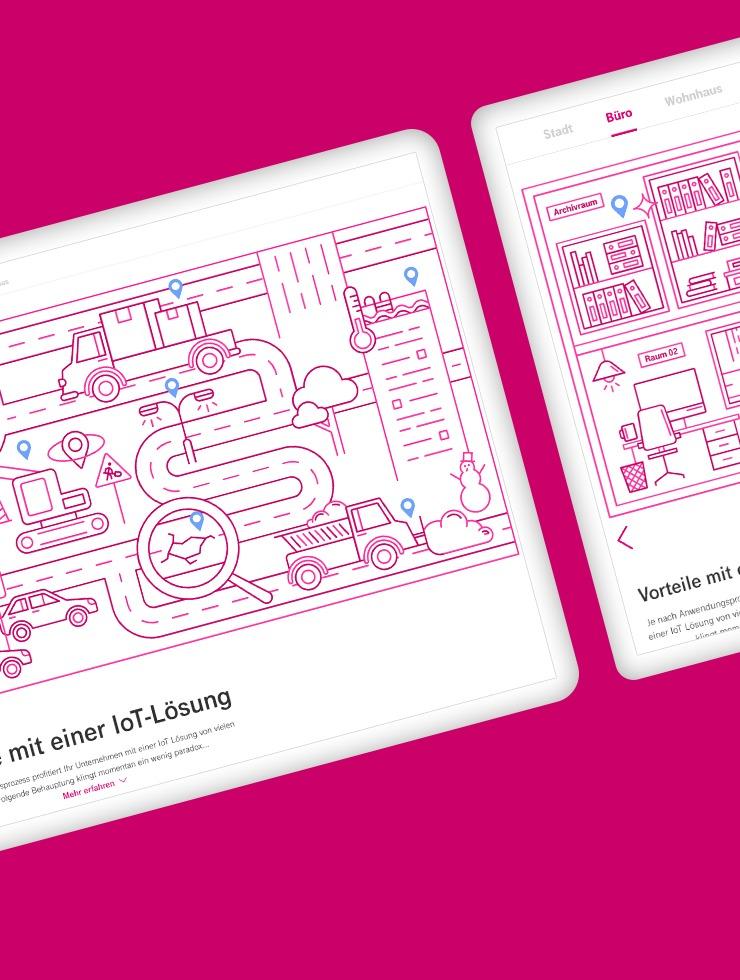Magenta Business IoT Wimmelbuch